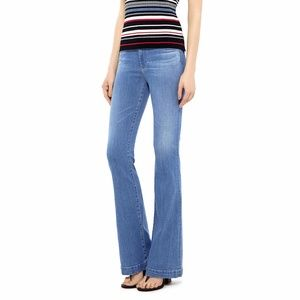 AG 30 High Rise Flare Jeans Janis Medium Wash 35L